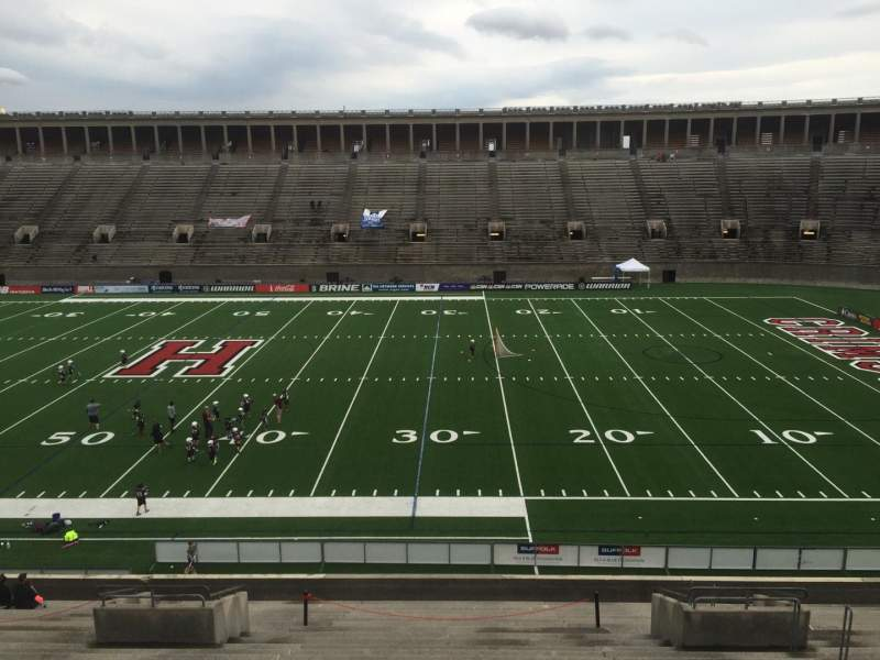 Seating view for Harvard Stadium Section 29 Row MM Seat 10