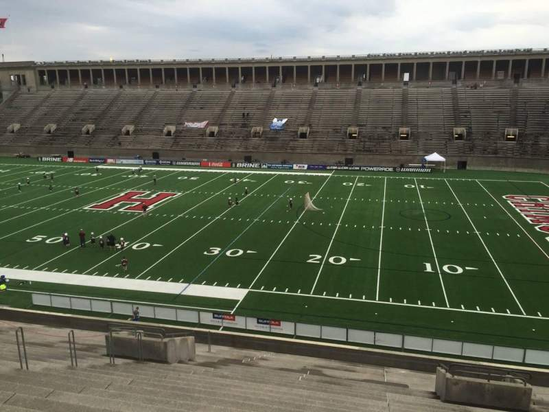 Seating view for Harvard Stadium Section 28 Row MM Seat 6