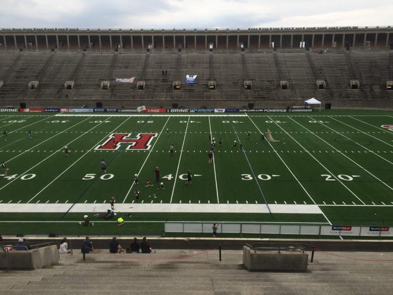 Seating view for Harvard Stadium Section 30 Row LL Seat 6