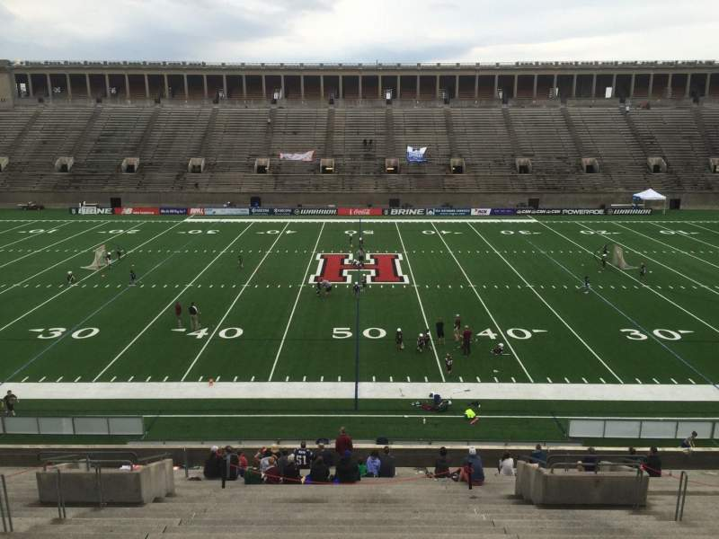 Seating view for Harvard Stadium Section 31 Row LL Seat 10