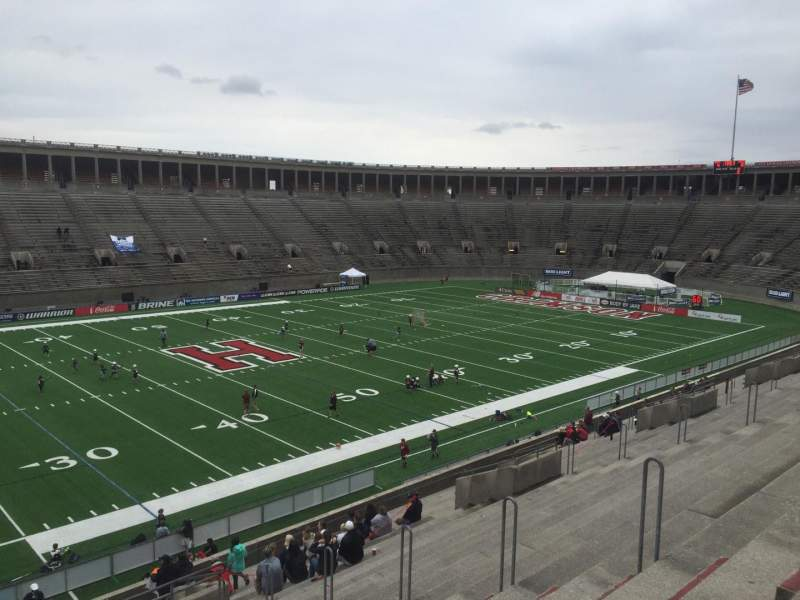 Seating view for Harvard Stadium Section 34 Row KK Seat 10