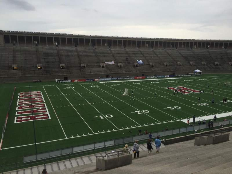 Seating view for Harvard Stadium Section 36 Row MM Seat 12