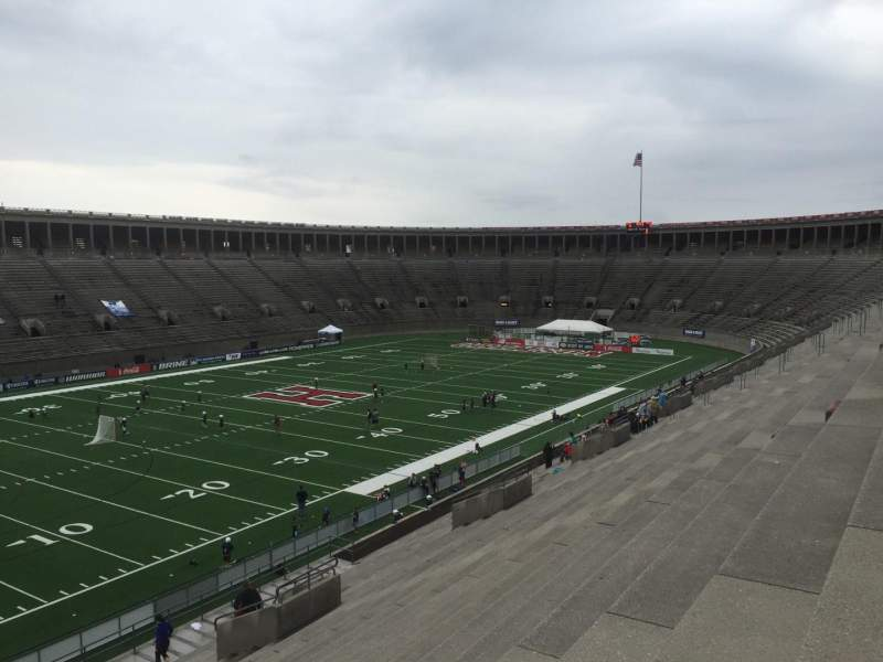 Seating view for Harvard Stadium Section 37 Row MM Seat 4