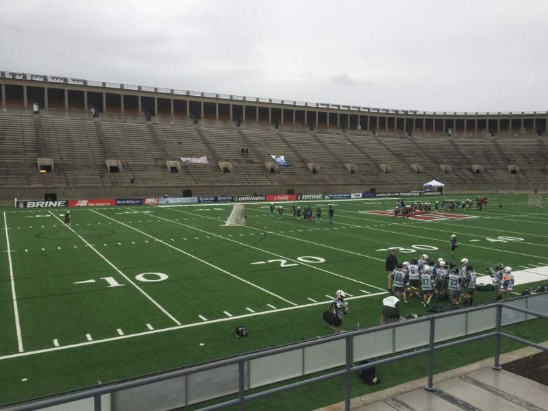 Seating view for Harvard Stadium Section 35 Row C Seat 14
