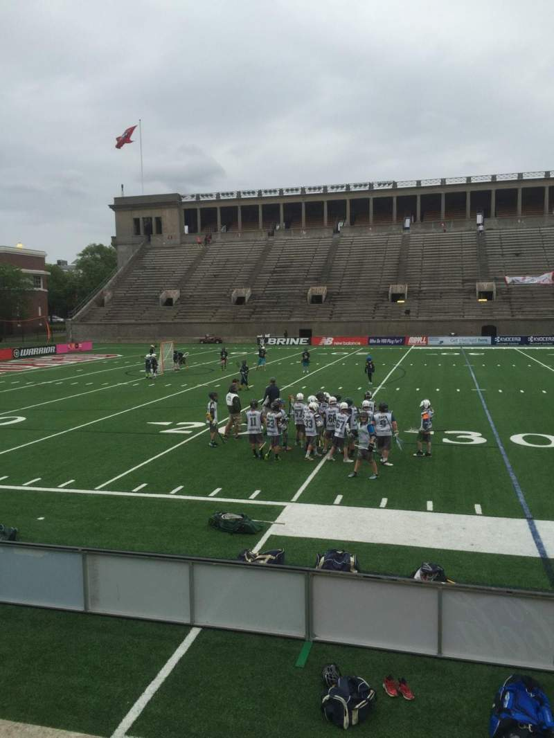 Seating view for Harvard Stadium Section 33 Row N Seat 12