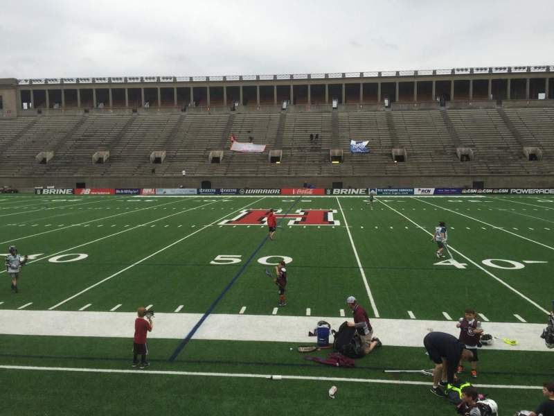 Seating view for Harvard Stadium Section 31 Row N Seat 4