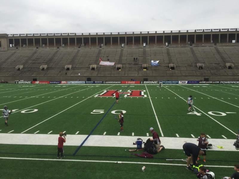 Harvard Stadium, section: 31, row: N, seat: 4
