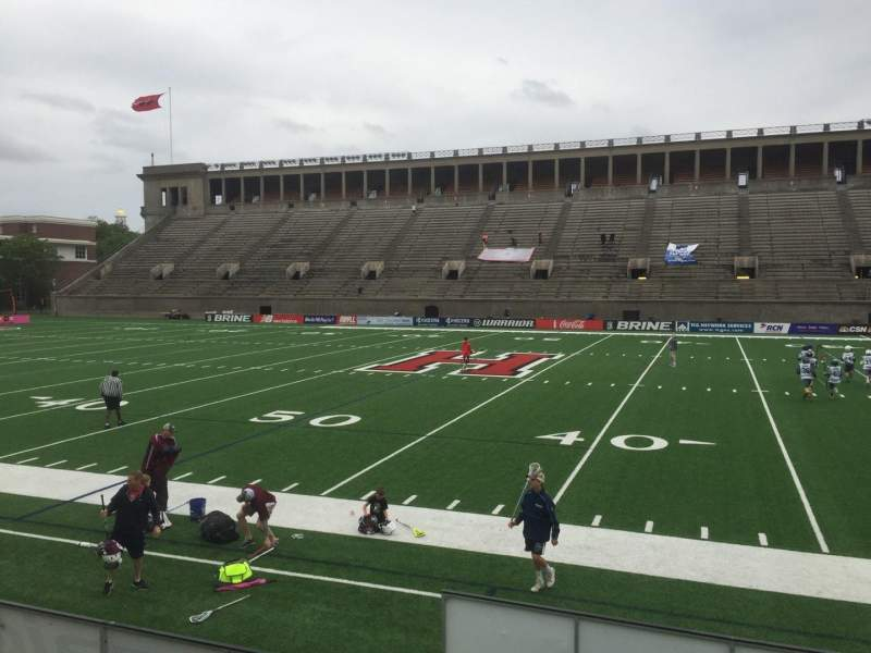 Seating view for Harvard Stadium Section 30 Row O Seat 6