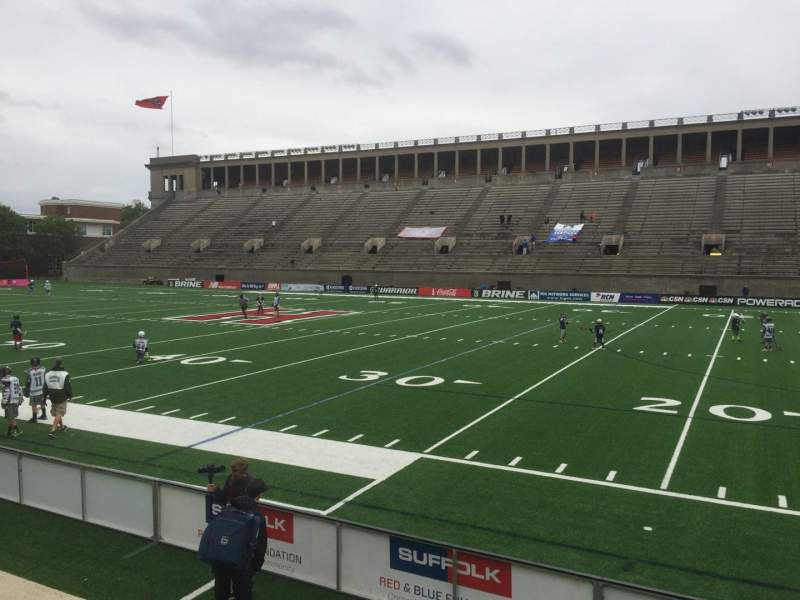Harvard Stadium, section: 28, row: N, seat: 14