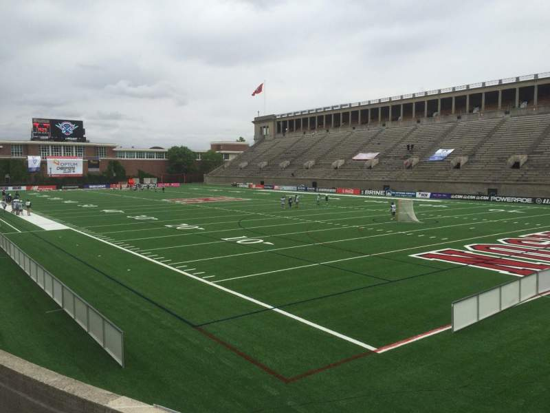 Seating view for Harvard Stadium Section 24 Row P Seat 12