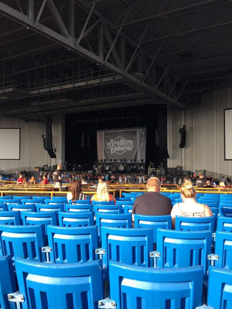 Seating view for PNC Music Pavilion Section 5 Row Q Seat 21
