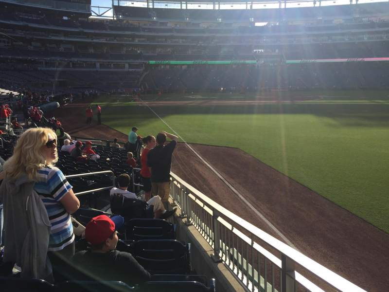 Seating view for Nationals Park Section 137 Row T Seat 22