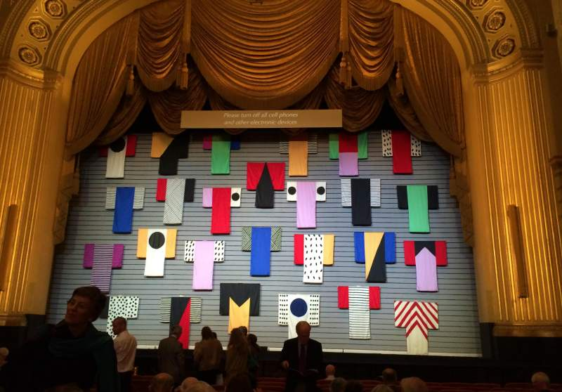Seating view for War Memorial Opera House Section Orchestra Row M Seat 106