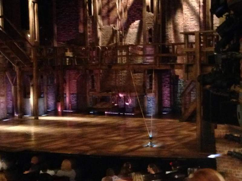 Seating view for Richard Rodgers Theatre Section Orch Row N Seat 28