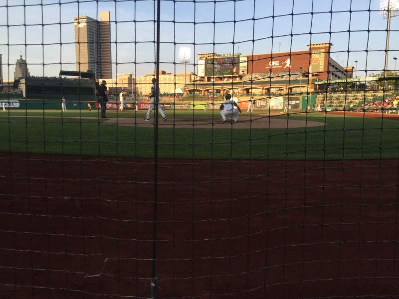 Seating view for Parkview Field Section 109 Row A Seat 5