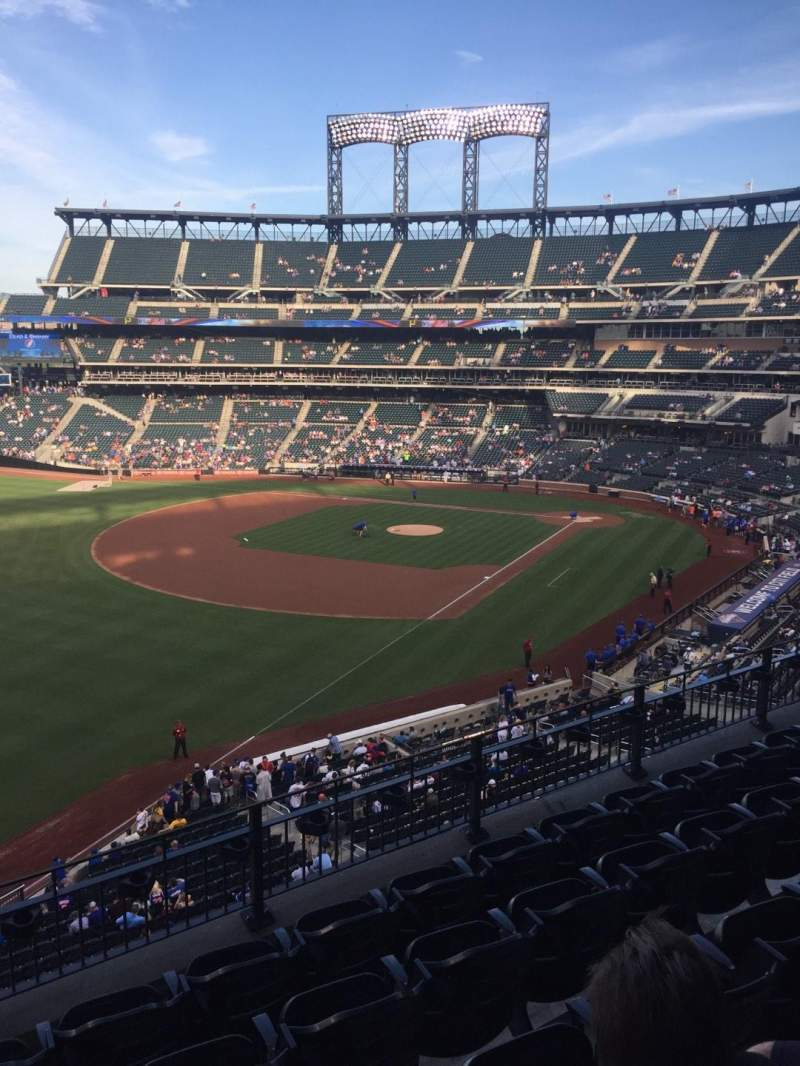 Seating view for Citi Field Section 332 Row 5 Seat 15-16