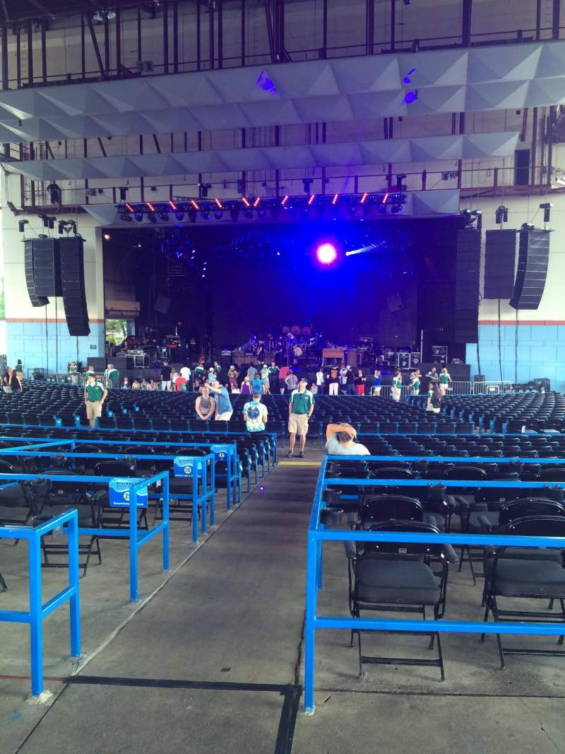 Seating view for Riverbend Music Center Section 900 Row AA Seat 901