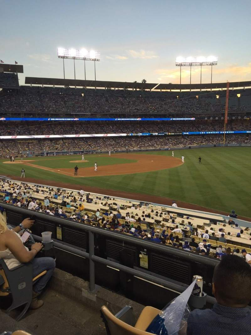 Seating view for Dodger Stadium Section 158LG Row C Seat 3