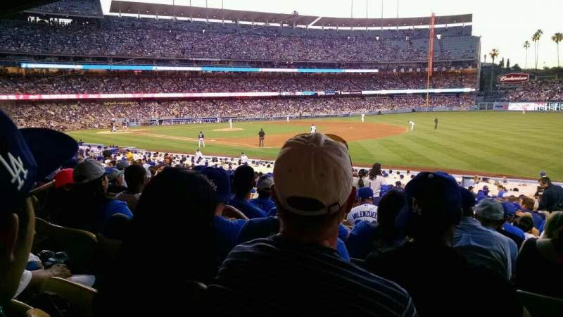 Seating view for Dodger Stadium Section 38fd Row v Seat 7