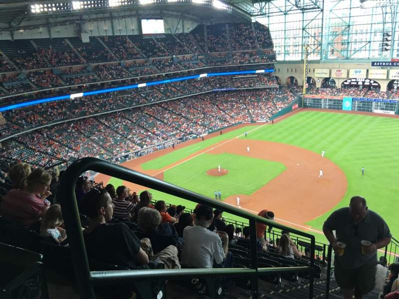 Seating view for Minute Maid Park Section 429 Row 9 Seat 1