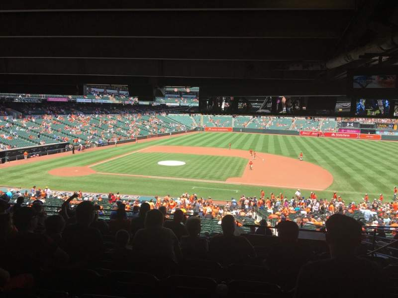 Seating view for Oriole Park at Camden Yards Section 19 Row 13 Seat 3
