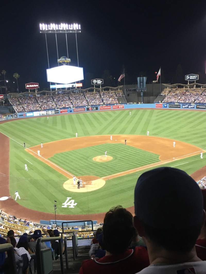 Seating view for Dodger Stadium Section 4RS Row M Seat 1