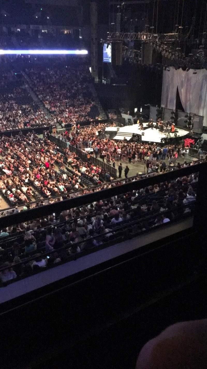 Bridgestone Arena, section: 208, row: D, seat: 15