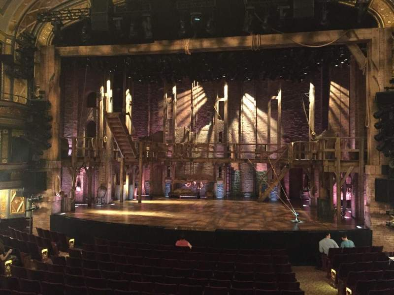 Seating view for Richard Rodgers Theatre Section Orchestra Row O Seat 102