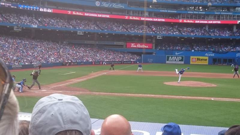 Seating view for Rogers Centre Section 118r Row 14 Seat 5