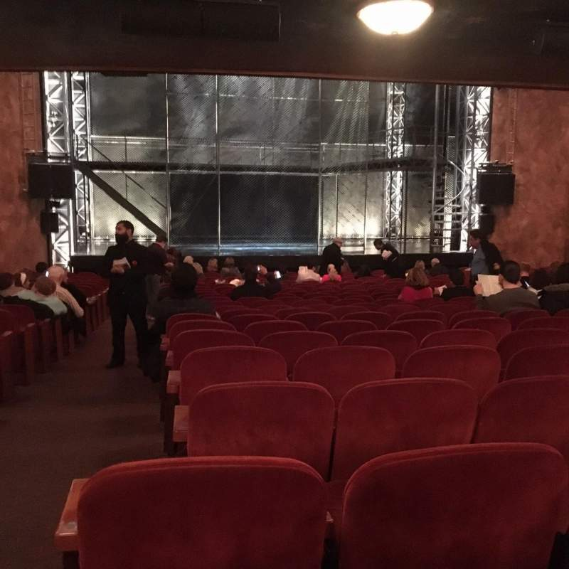 Seating view for August Wilson Theatre Section Orch Center Row V Seat 115