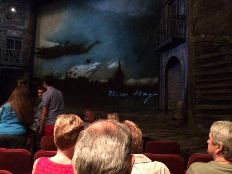 Seating view for Imperial Theatre Section Orch Right Row E Seat 10