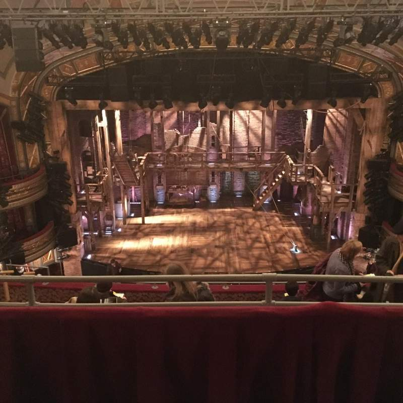 Seating view for Richard Rodgers Theatre Section RMEZZ Ctr Row B Seat 108