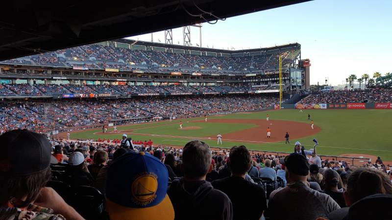 AT&T Park, section: 104, row: 36, seat: 14