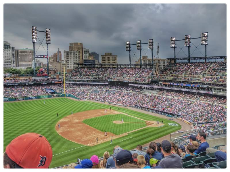 Comerica Park, section: 338, row: 7, seat: 13