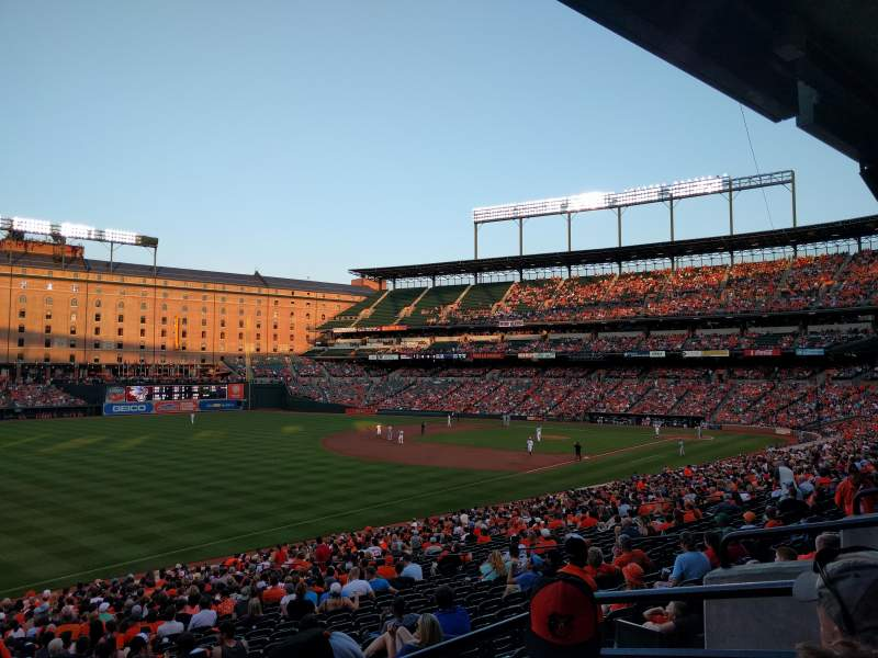 Seating view for Oriole Park at Camden Yards Section 67 Row 3 Seat 4
