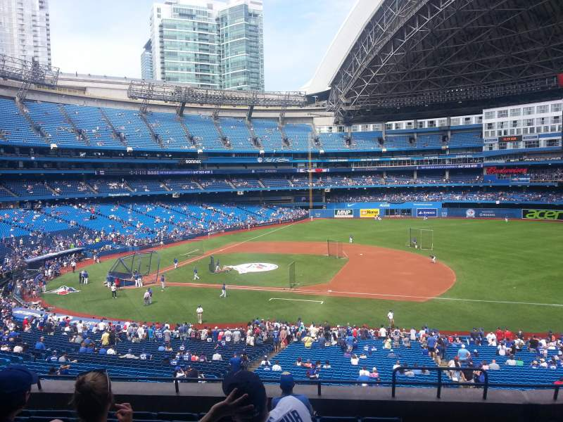 Seating view for Rogers Centre Section 217L Row 8 Seat 103