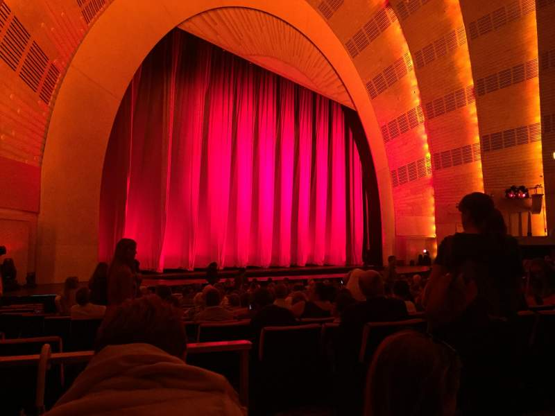 Seating view for Radio City Music Hall Section Orchestra 7 Row XX Seat 701