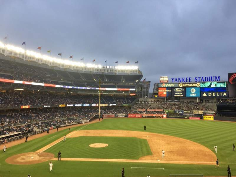 Seating view for Yankee Stadium Section 216 Row 9 Seat 7