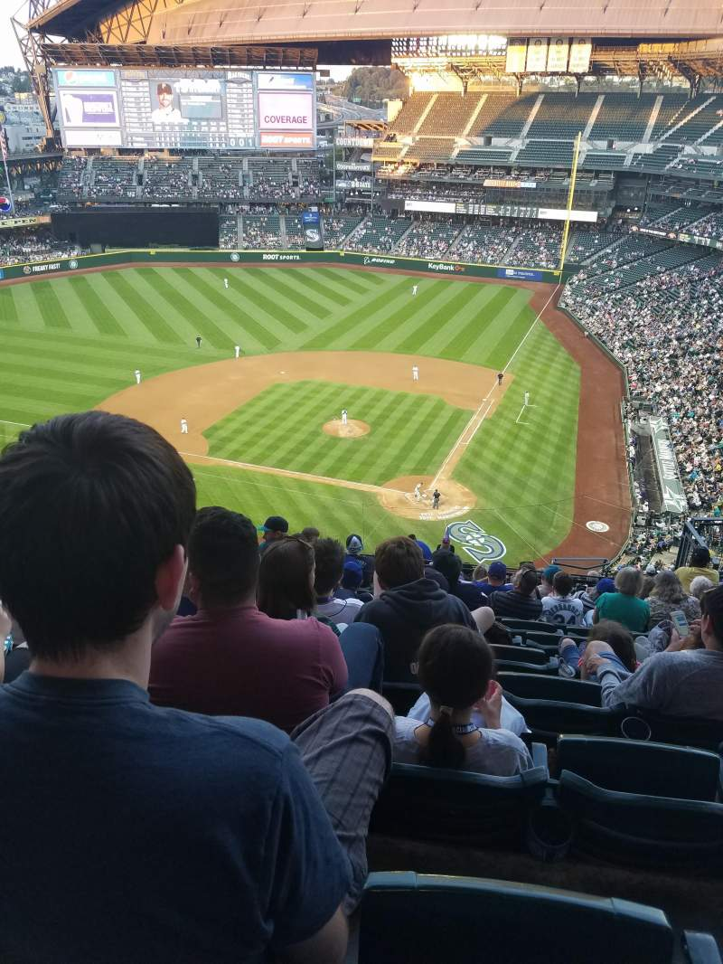 Seating view for Safeco Field Section 333 Row 18 Seat 9