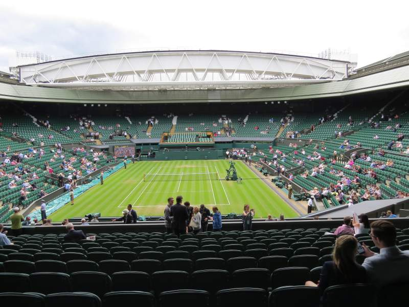 Seating view for Wimbledon, Centre Court Section 309 Row N Seat 178
