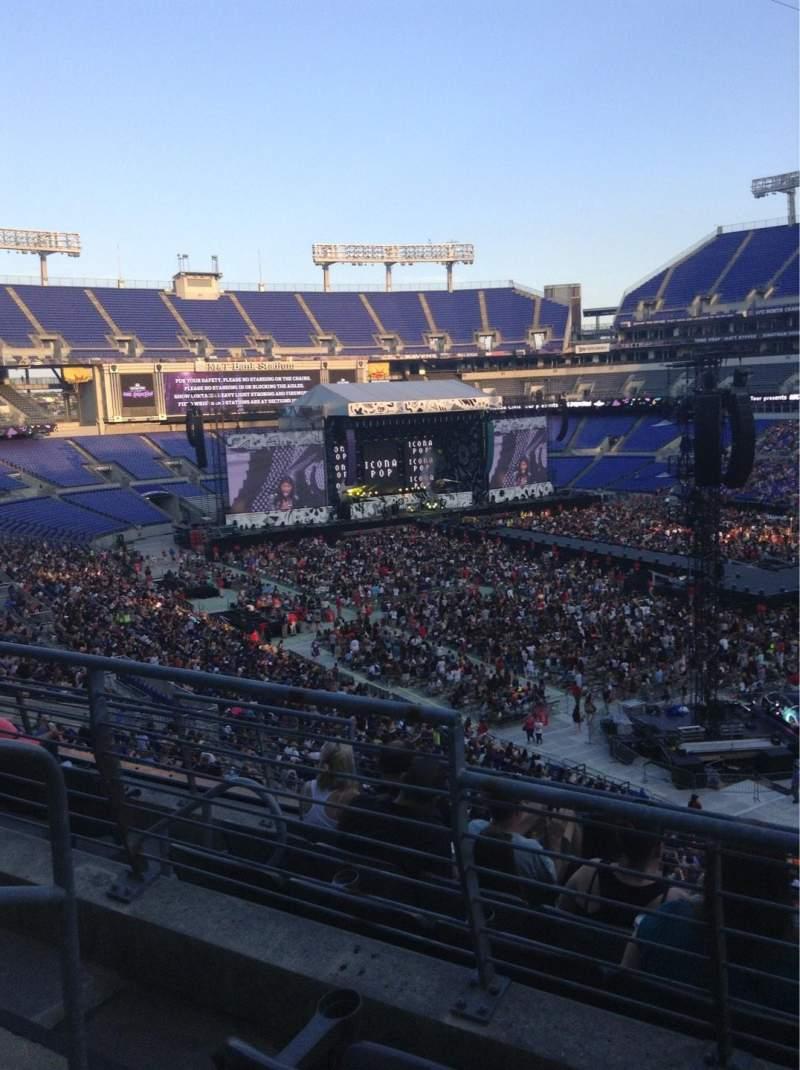 M&T Bank Stadium, section: 247, row: 2, seat: 2