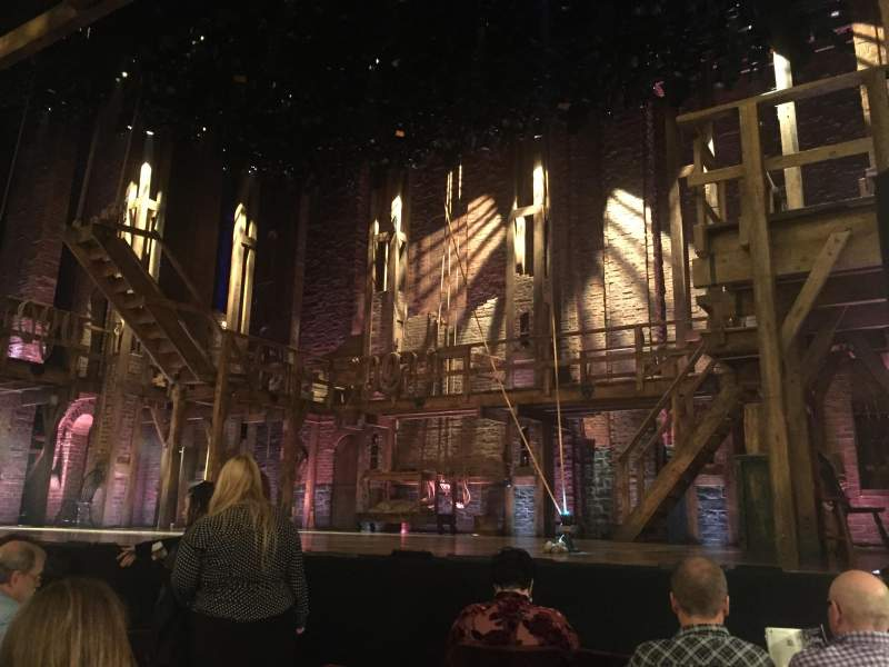 Seating view for Richard Rodgers Theatre Section ORCH RIGHT Row E Seat 10