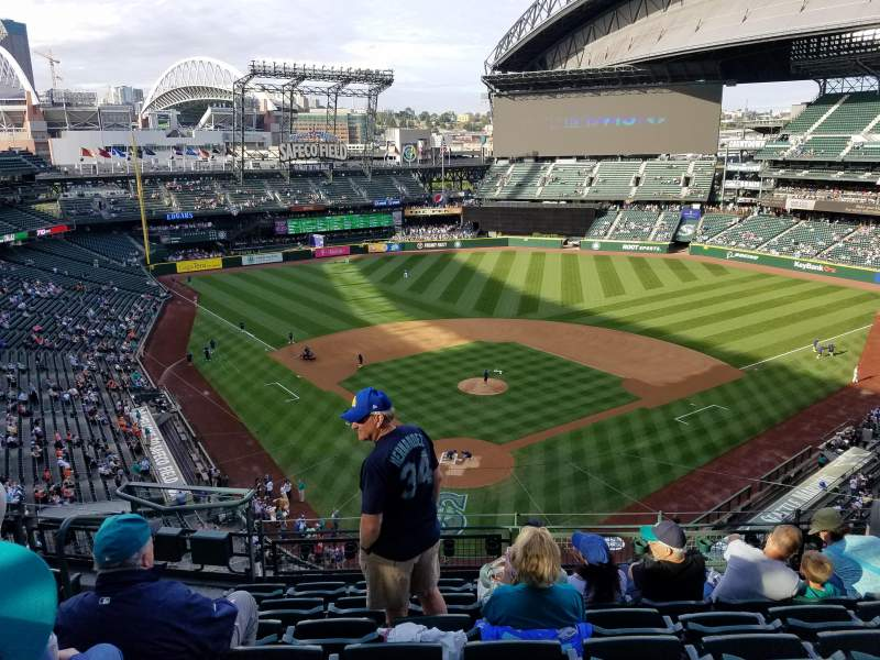 Seating view for Safeco Field Section 329 Row 7 Seat 13