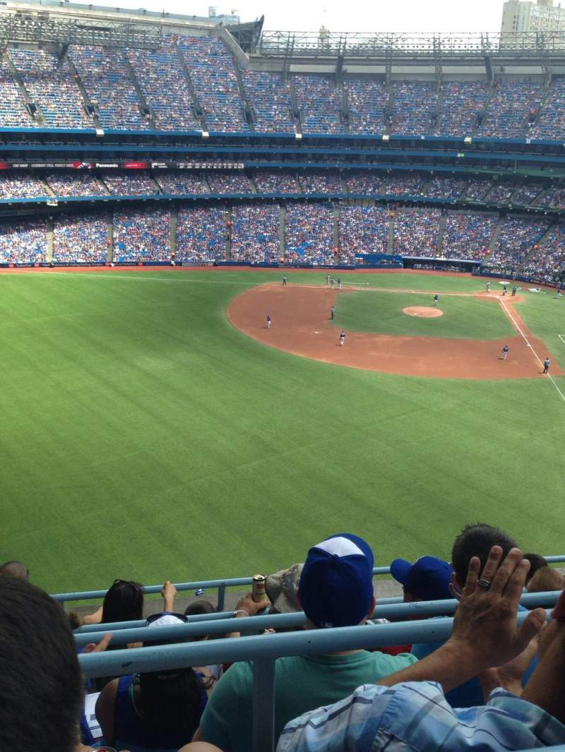 Seating view for Rogers Centre Section 541R Row 5 Seat 3