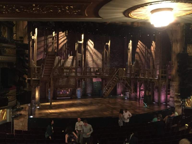 Seating view for Richard Rodgers Theatre Section Orch Row R Seat 15