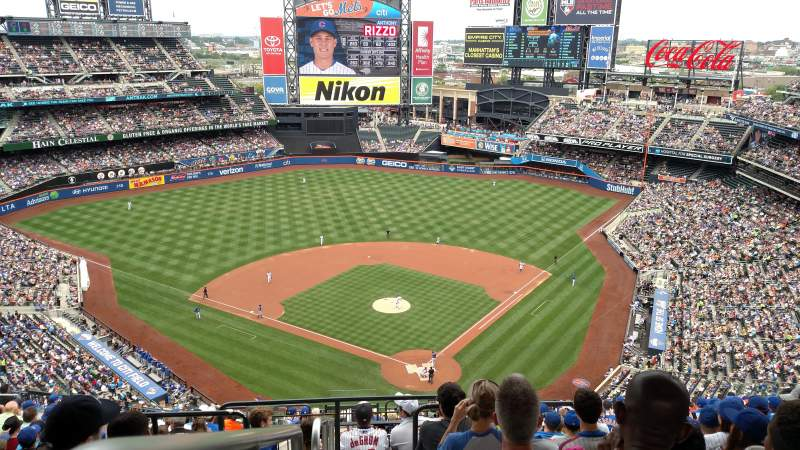 Seating view for Citi Field Section 515 Row 17 Seat 21