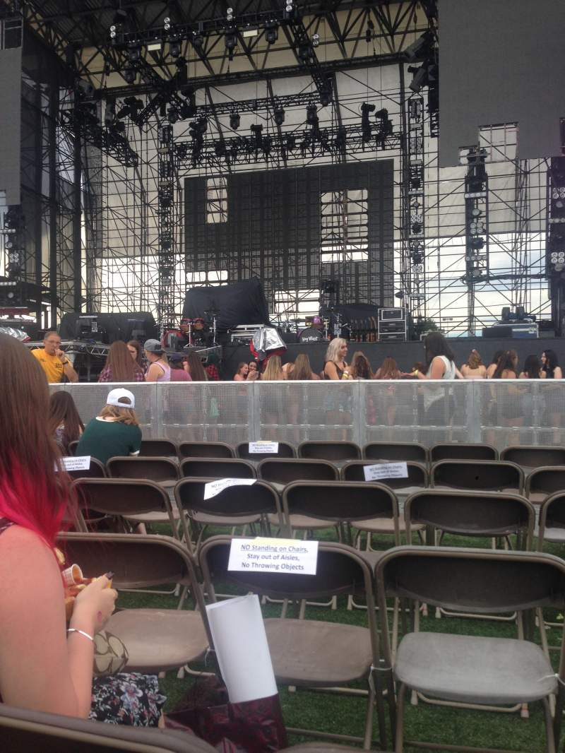 Seating view for Hershey Park Stadium Section B Row 14 Seat 8