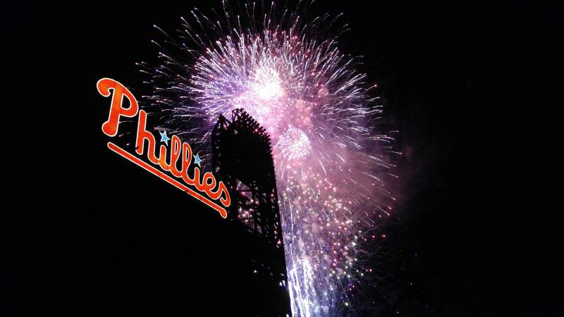 Seating view for Citizens Bank Park Section 333 Row 1 Seat 17