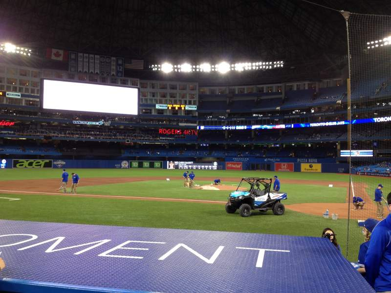 Seating view for Rogers Centre Section 124L Row 10 Seat 102
