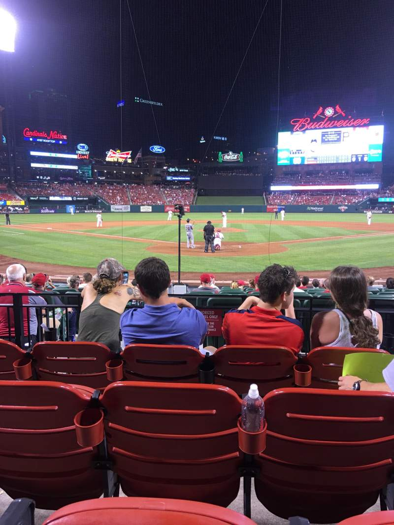 Seating view for Busch Stadium Section 150 Row 4 Seat 5